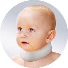 Шина-воротник типа Шанца для недоношенных и новорожденных детей.
