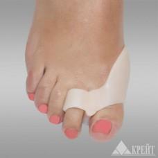 Защитная накладка двойная на 1 и 2 пальцы стопы