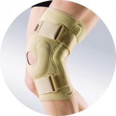 Ортез на коленный сустав из неопрена, с металлическими шарнирами, циркулярный